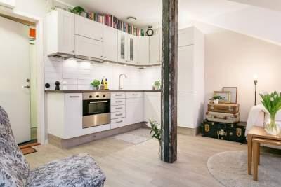 Дизайн квартир небольшой площади
