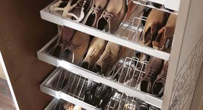 Удобная полка для обуви