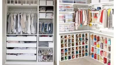 Варианты организации гардероба